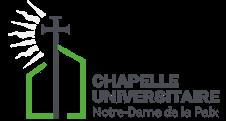 Chapelle Universitaire Notre Dame de la Paix – Namur Logo